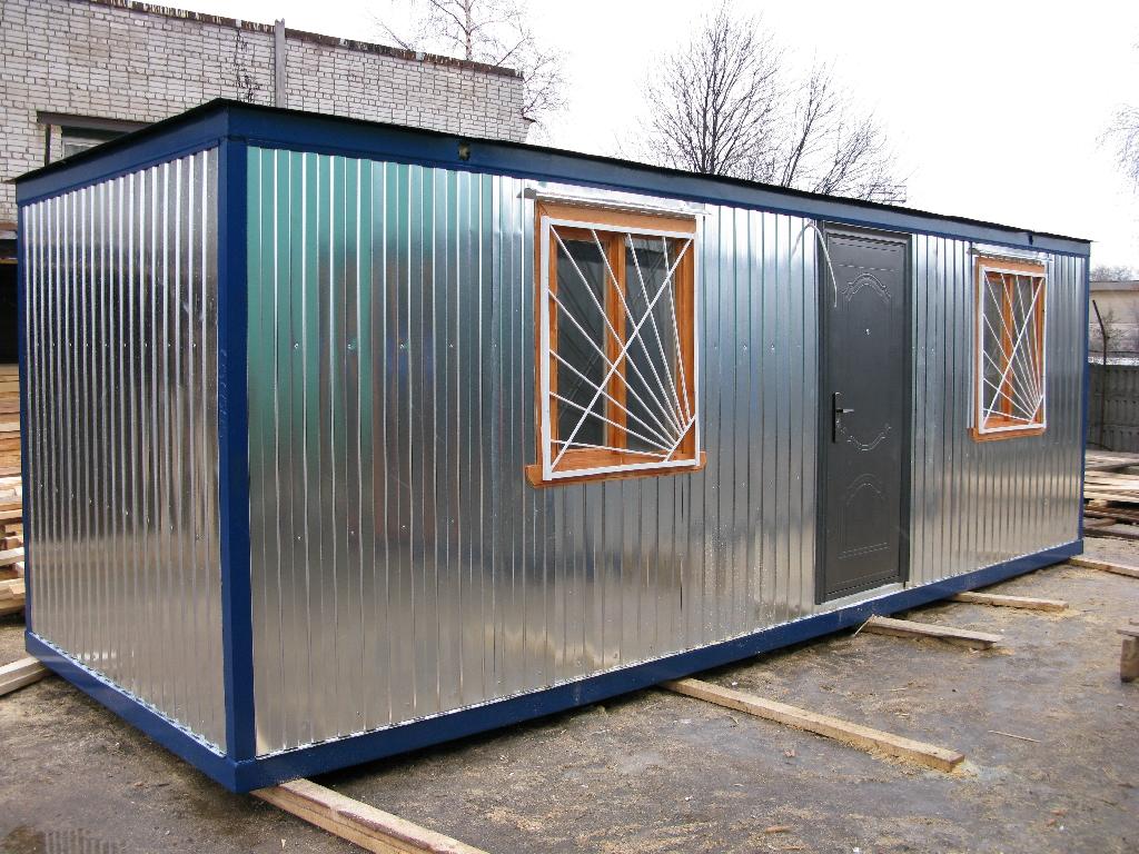 """Строительный блок-контейнер """"2 комнаты"""""""