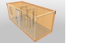 """Блок-контейнер """"Тепло+"""" Стандарт"""