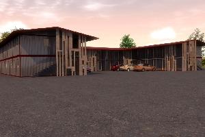 Мотель (модульное здание)