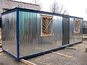 Блок-контейнер металлический с душем и туалетом