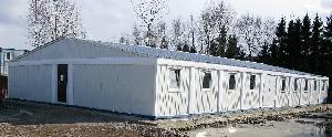 Быстровозводимое модульное здание из блок контейнеров